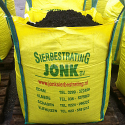 Gemalen Zwarte Tuinaarde incl. Big Bag (1 m³)