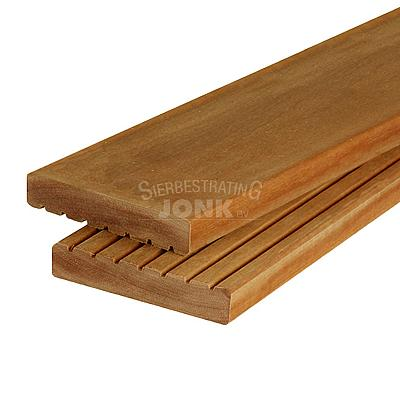 hardhout vlonder plank anti slip terras dakterras